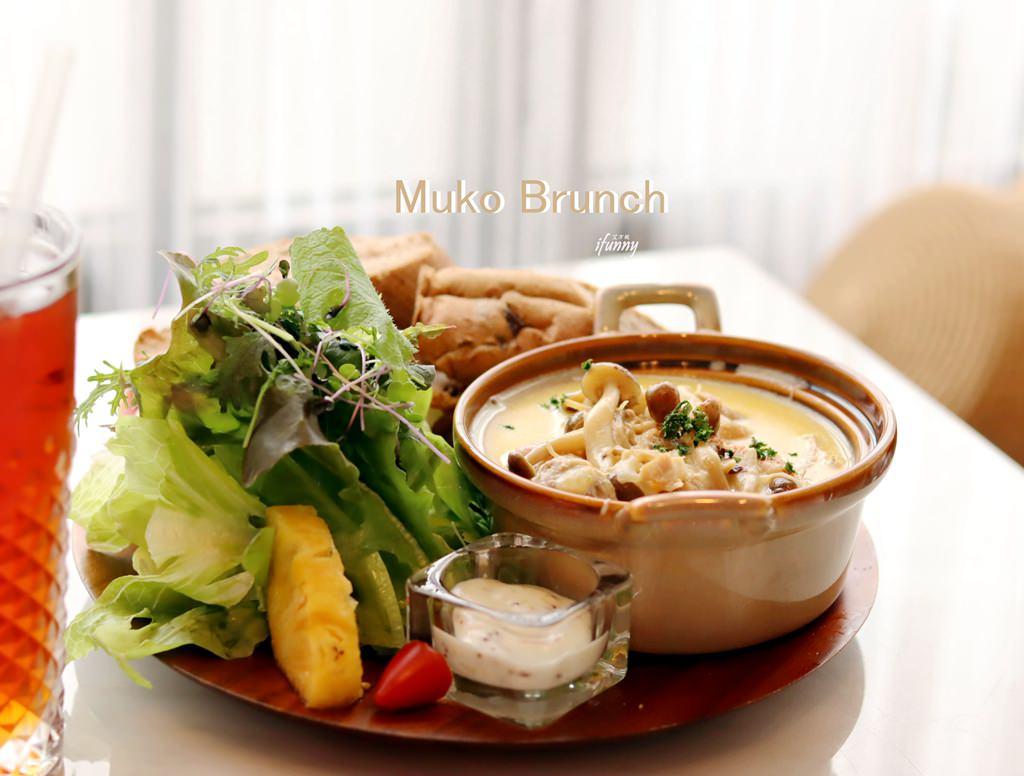 [東門站]Muko Brunch木可早午餐~漸層粉紅牆與透亮玻璃屋的網紅網美聚集地/IG打卡熱點(1+2訪)