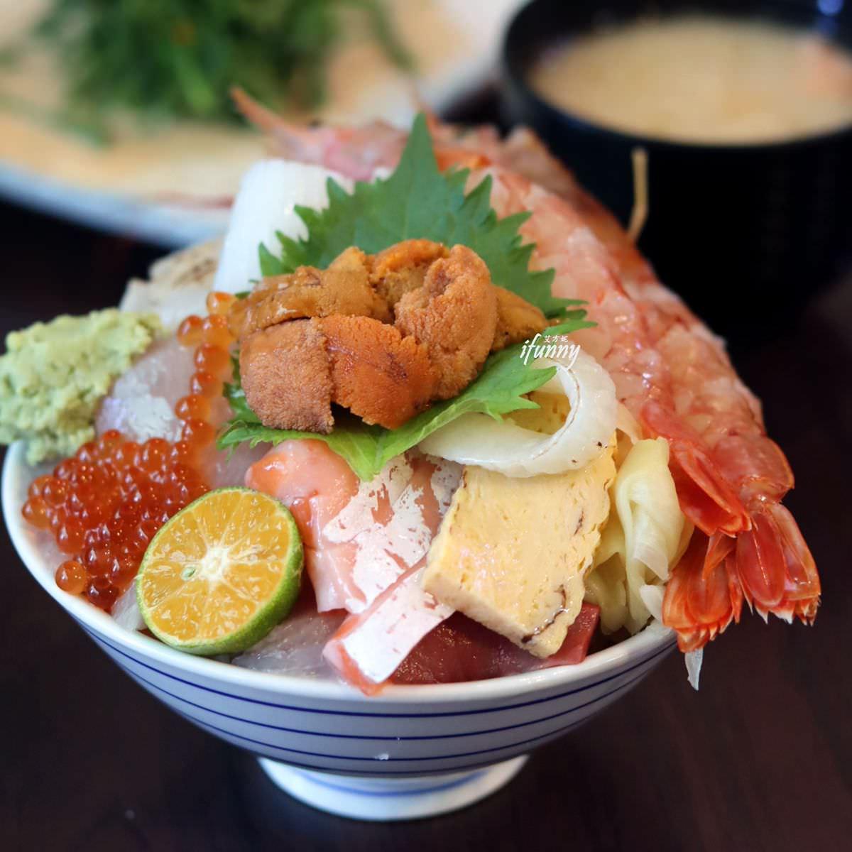 環狀線 中原站 | 揚日式料理(生魚片蓋飯) 浮誇系丼飯/隨意丼 吃到第三層才看得到醋飯