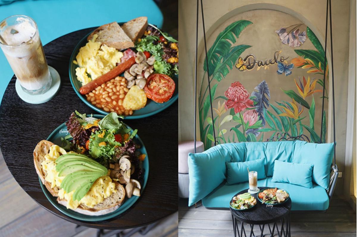 科技大樓站 | Dacelo 巷弄中英式早午餐 康福茶 咖啡甜點