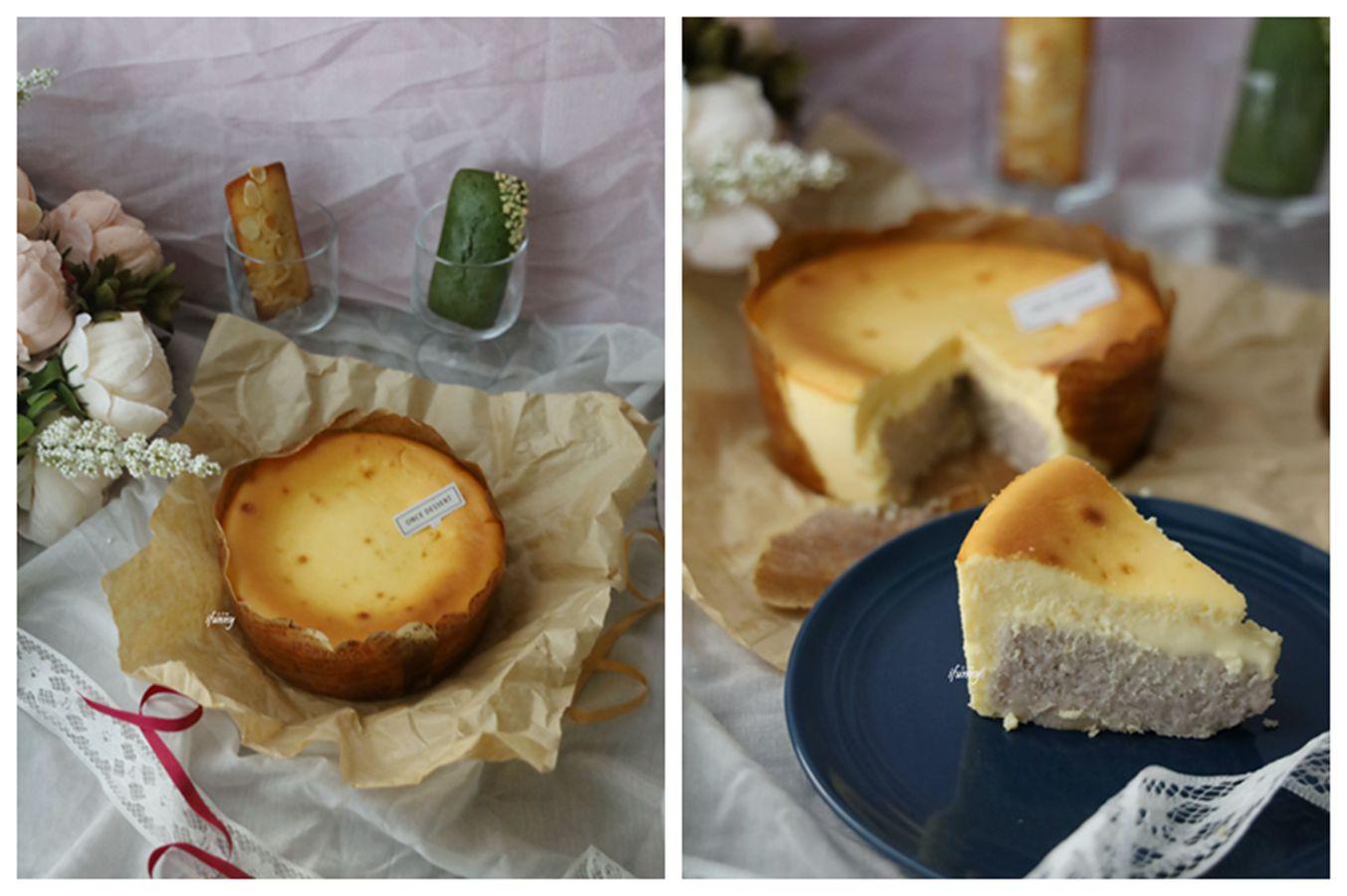 望思甜點 高雄仙氣甜點店最新力作  芋頭控不容錯過的大甲芋巴斯克乳酪蛋糕