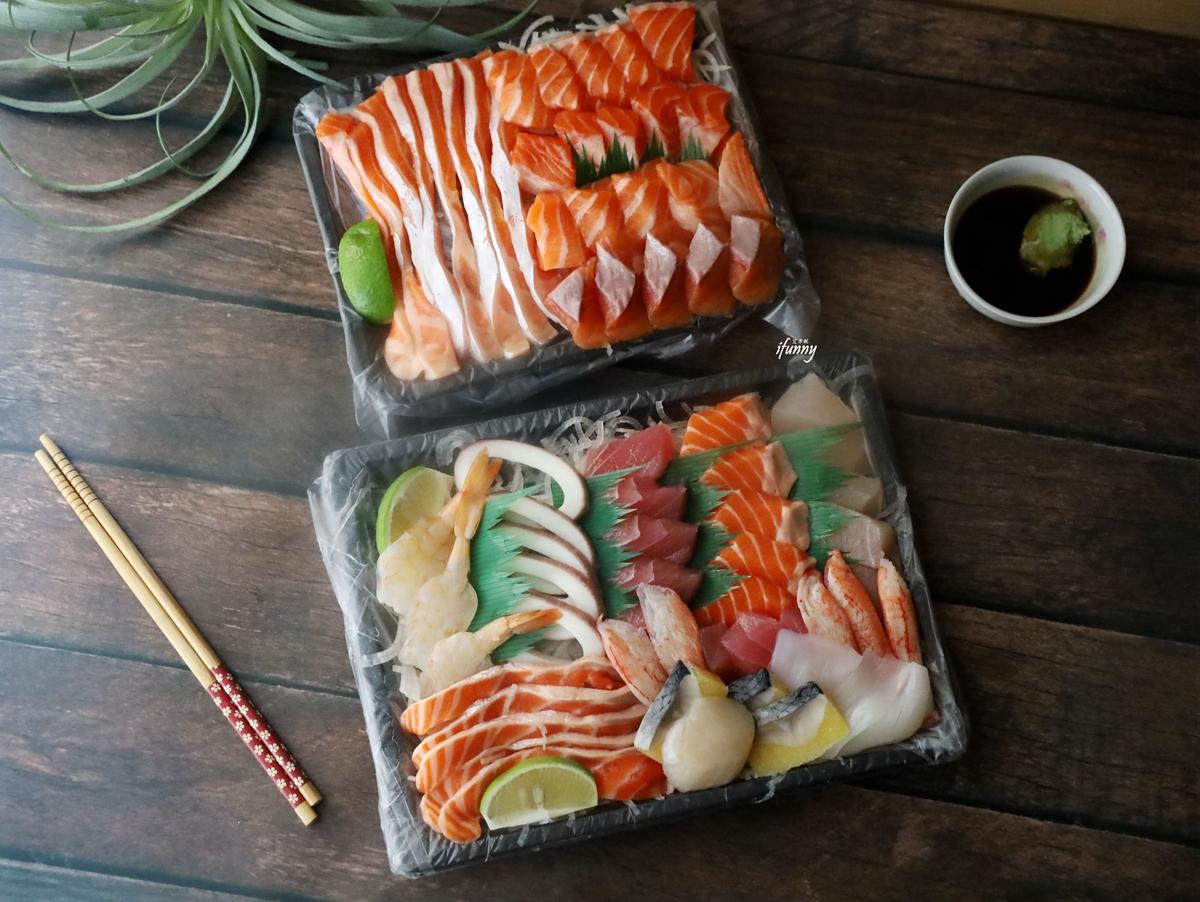 生魚片推薦 | 津之芳生魚片專賣店 不用跑到濱江市場 專車送到家的生魚片 新鮮便宜又美味