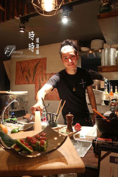 [善導寺站]時時JiJi爐端燒~帥氣主廚木槳上菜