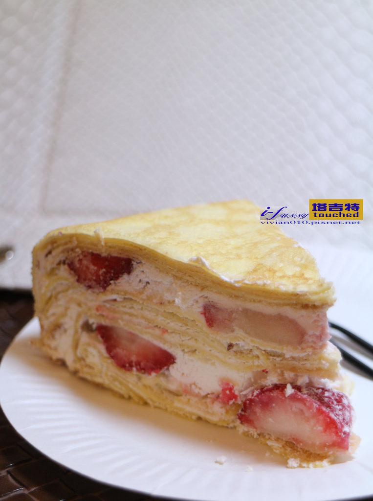 【網購/宅配】塔吉特草莓多千層蛋糕~香甜潤滑美味擄獲人心