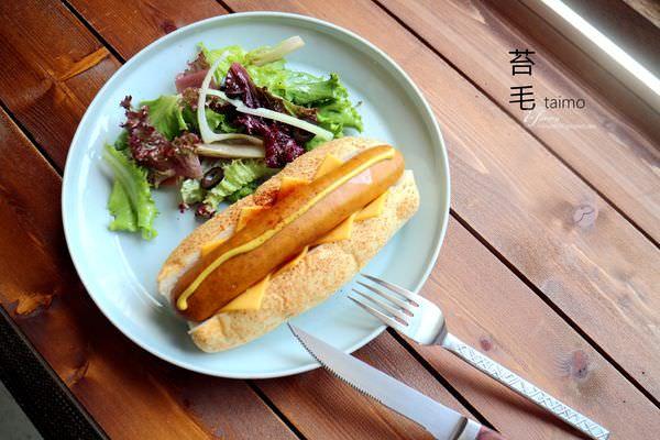 【六張犁站】苔毛咖啡 taimo cafe~巷弄內庭院咖啡~提供插座、WIFI,不限時