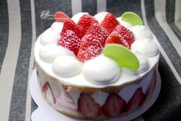 學堂洋菓子 甜蜜草莓
